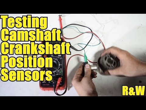 How to Test Crankshaft and Camshaft Position Sensors - YouTube
