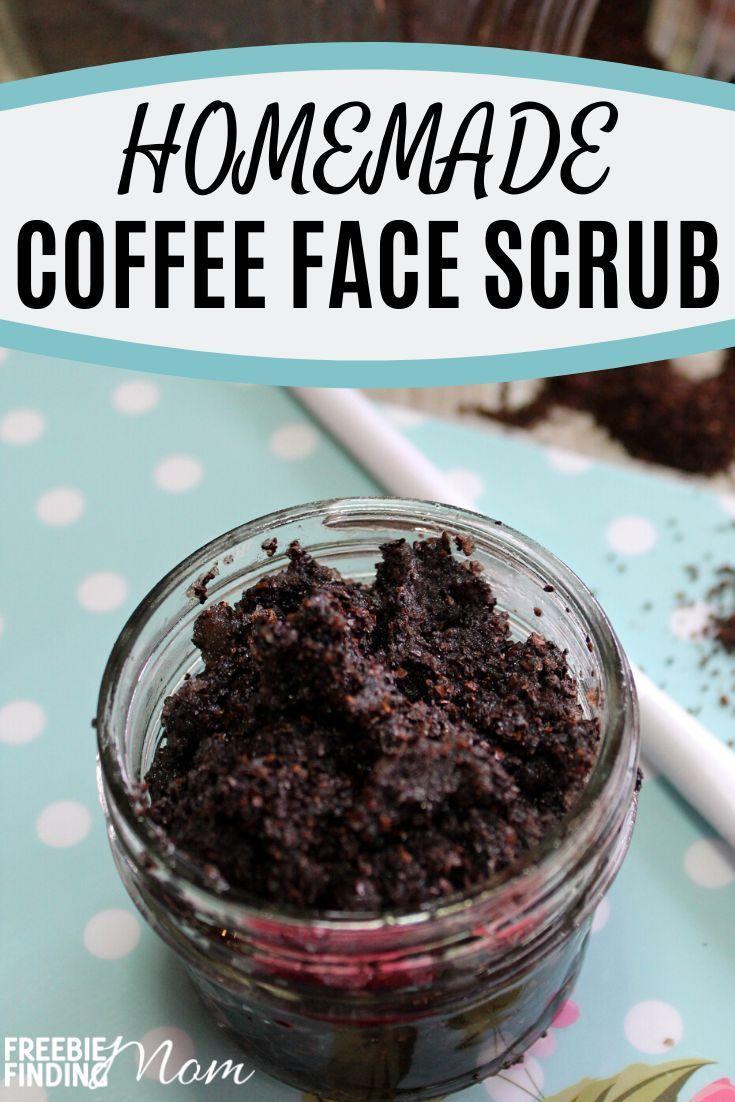 Homemade Coffee Face Scrub in 2020 Coffee face scrub
