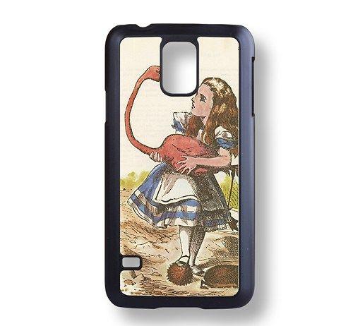 Alice in Wonderland Samsung Galaxy S5 Black Hard case Phone case-50034