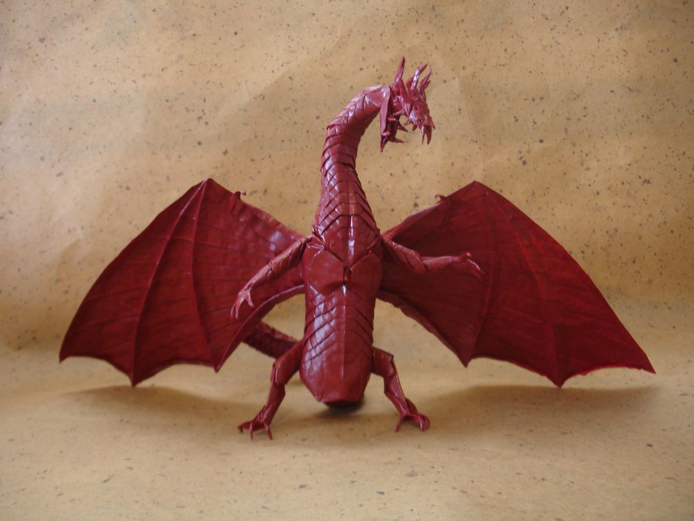 Japanese Origami Dragon Japan