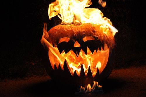 Jack o lantern on fire fire pumpkin halloween pumpkins halloween pictures  happy halloween halloween … | Awesome pumpkin carvings, Samhain halloween,  Pumpkin carving