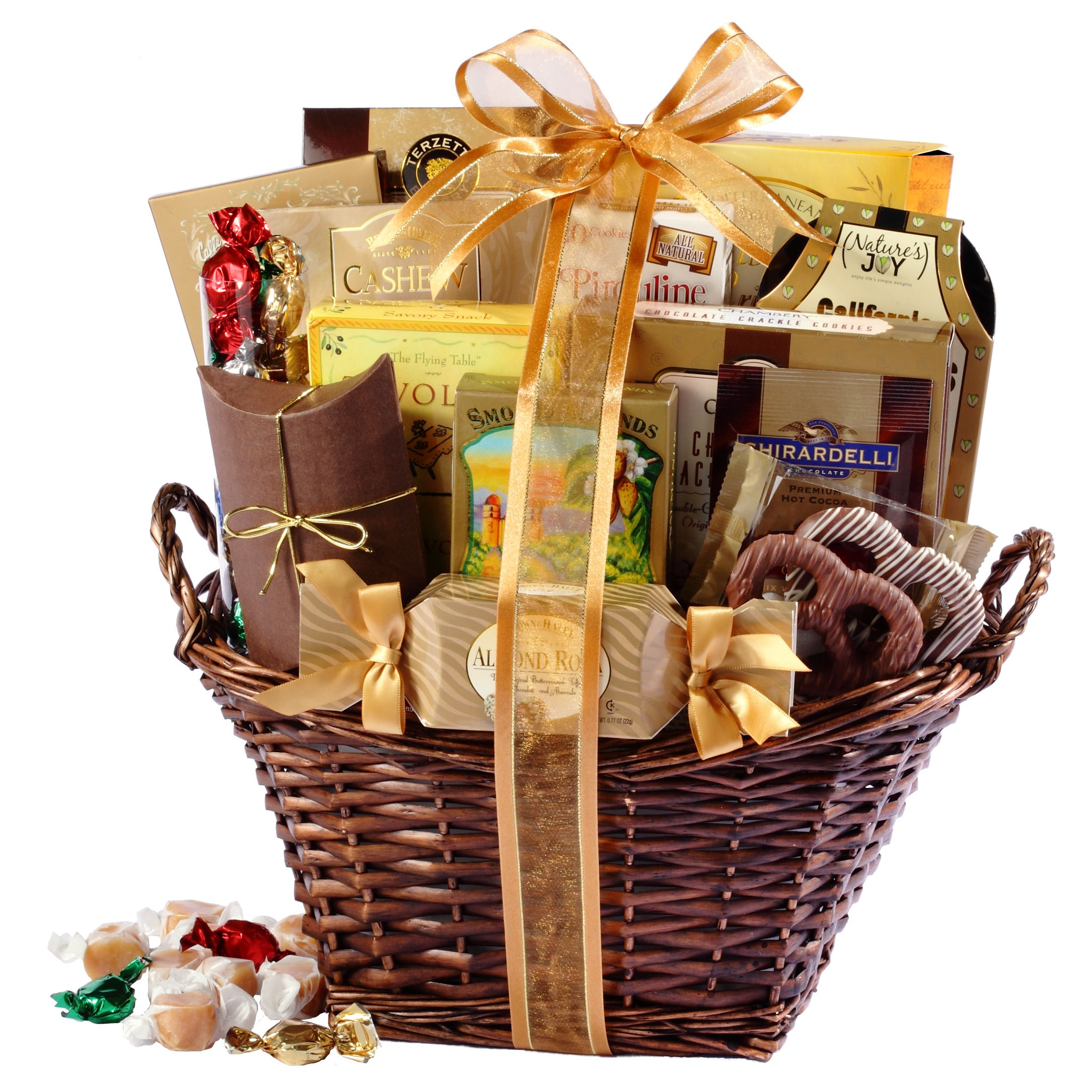 Gourmet Christmas Gift Baskets, Towers & More | Broadway Basketeers ...