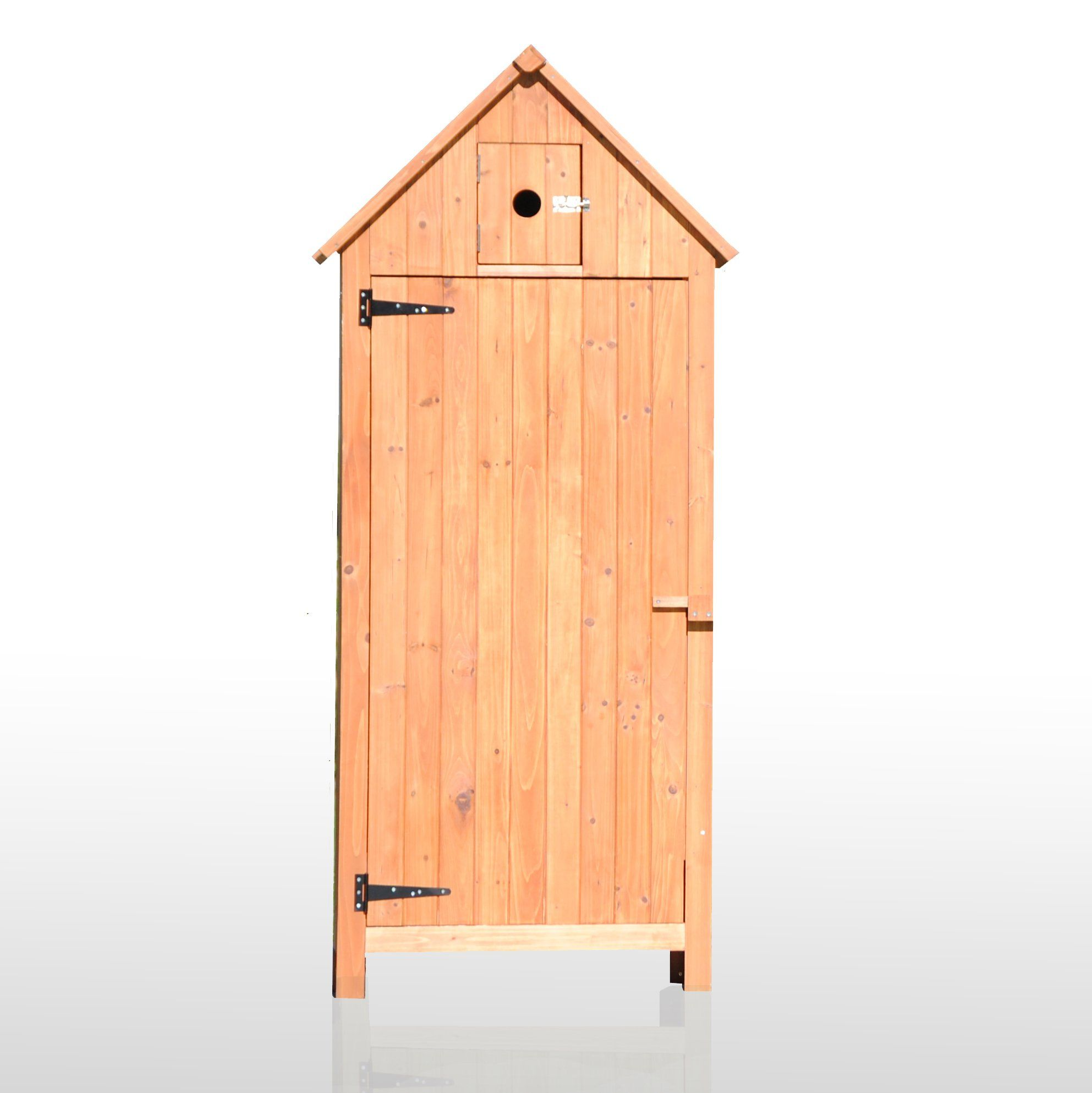 armoire exterieur de rangement pour terrasse jardin piscine en bois 77x54x179 cm birdo par jarsya