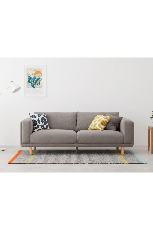 Karson 3-Sitzer Sofa, Grau