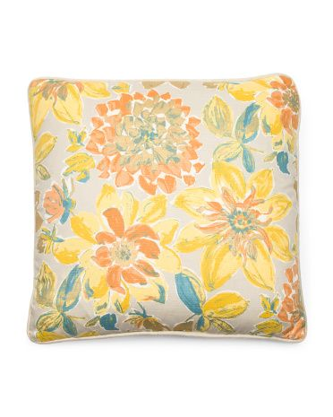 STOREHOUSE 40x40 Romana Print With Metallic Pillow 4040 TJMAXX Cool Storehouse Decorative Pillows