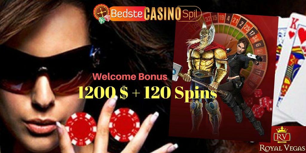 Velkomstbonus casino