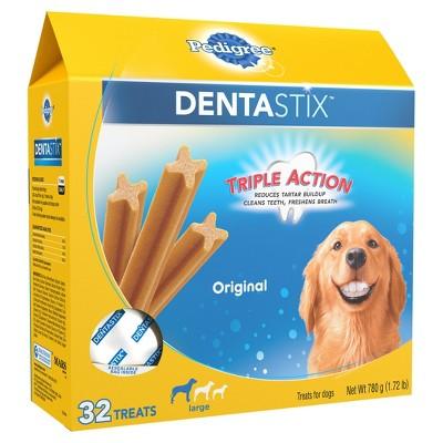 Pedigree Dentastix Original Large Treats For Dogs 32ct Dog