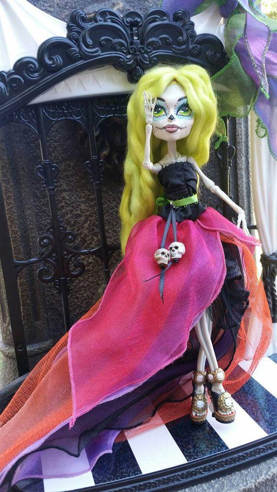 Skelita Calaveras Day of the Dead Halloween by TotalDollyIsland