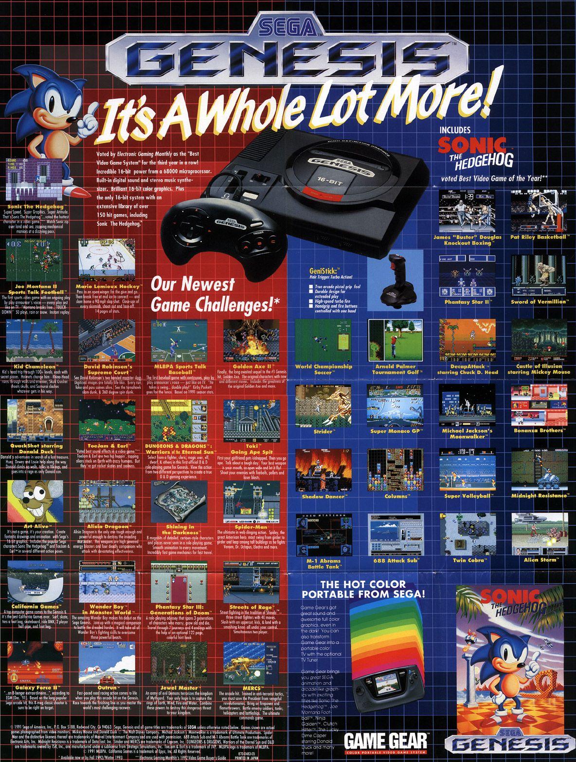 best sega genesis games - Buscar con Google | Sonic 2 ...