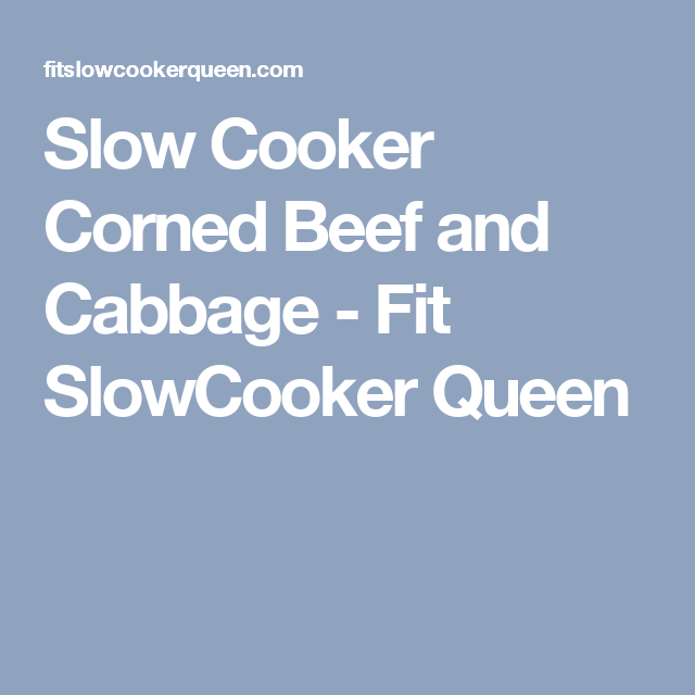 Video Slow Cooker Instant Pot Corned Beef And Cabbage Paleo Whole30 Recipe Slow Cooker Corn Beef And Cabbage Slow Cooker Corned Beef