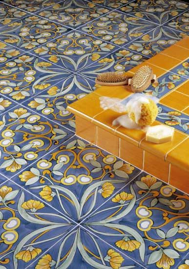 Italian Decorative Tiles Hand Painted Italian Tilesavailable On Demand Decorative Tile