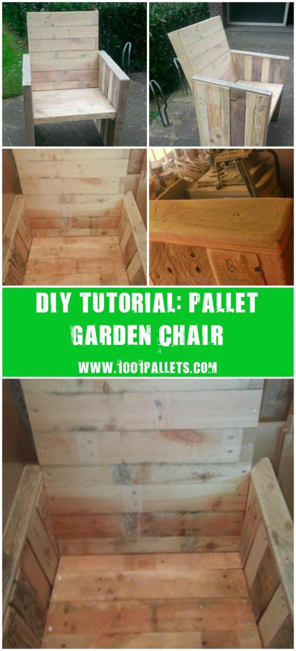 """[gallery columns=""""5"""" link=""""none"""" ids=""""14896,14897,14894,14898,14895""""] This tutorial by Mark Valkenburgwill show you how to made a garden chair from recycled pallets. 3-4Pallets. Approximately 2 afternoonsto make it. Need some good skills to do it, we evaluated this project as a highdifficulty…"""