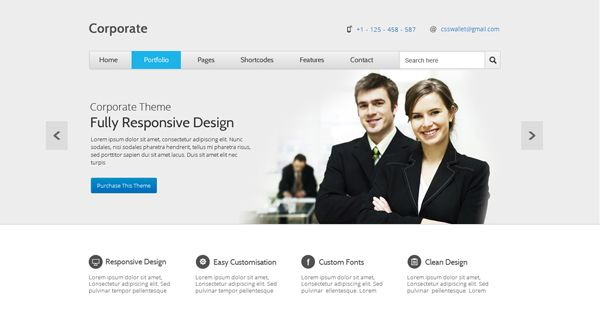 Corporate Creative Template, Business, Corporate, Free, Layout ...