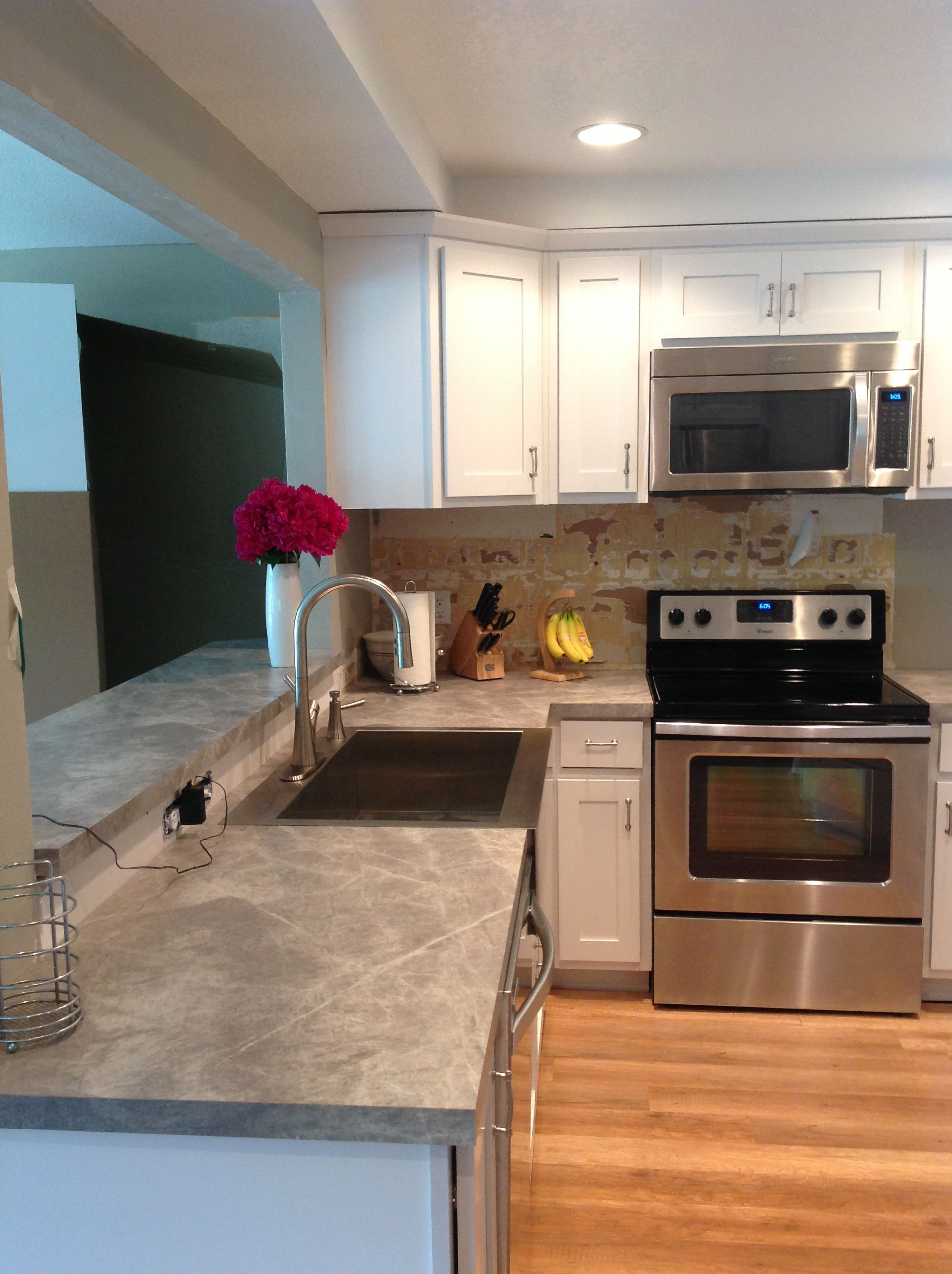 My New Formica 180fx Countertops In Soapstone Sequoia Great