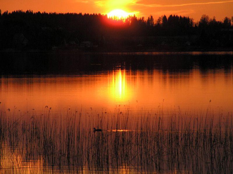 Another sunset - Karlstad, Varmland