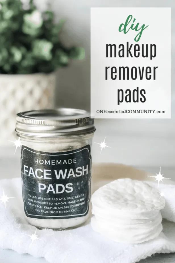 Makeup Remover Pads Oil makeup remover, Makeup remover