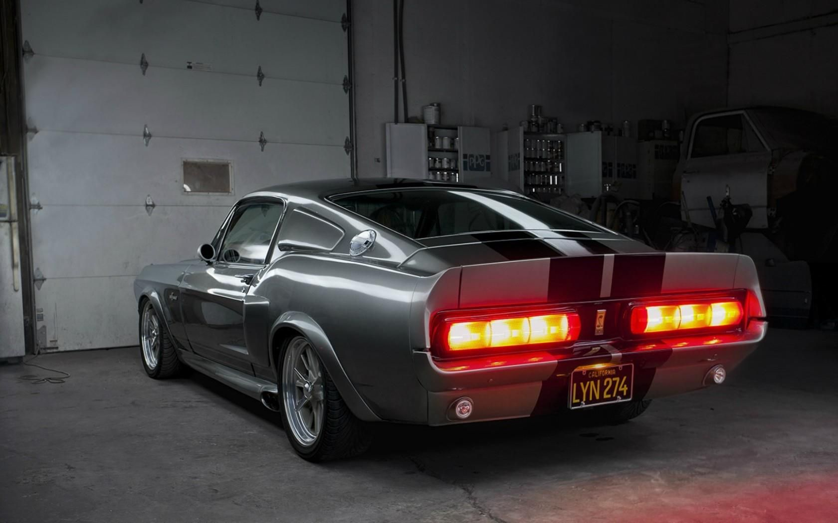 1967 Shelby Gt500e Eleanor Rear Tail Lights With Images