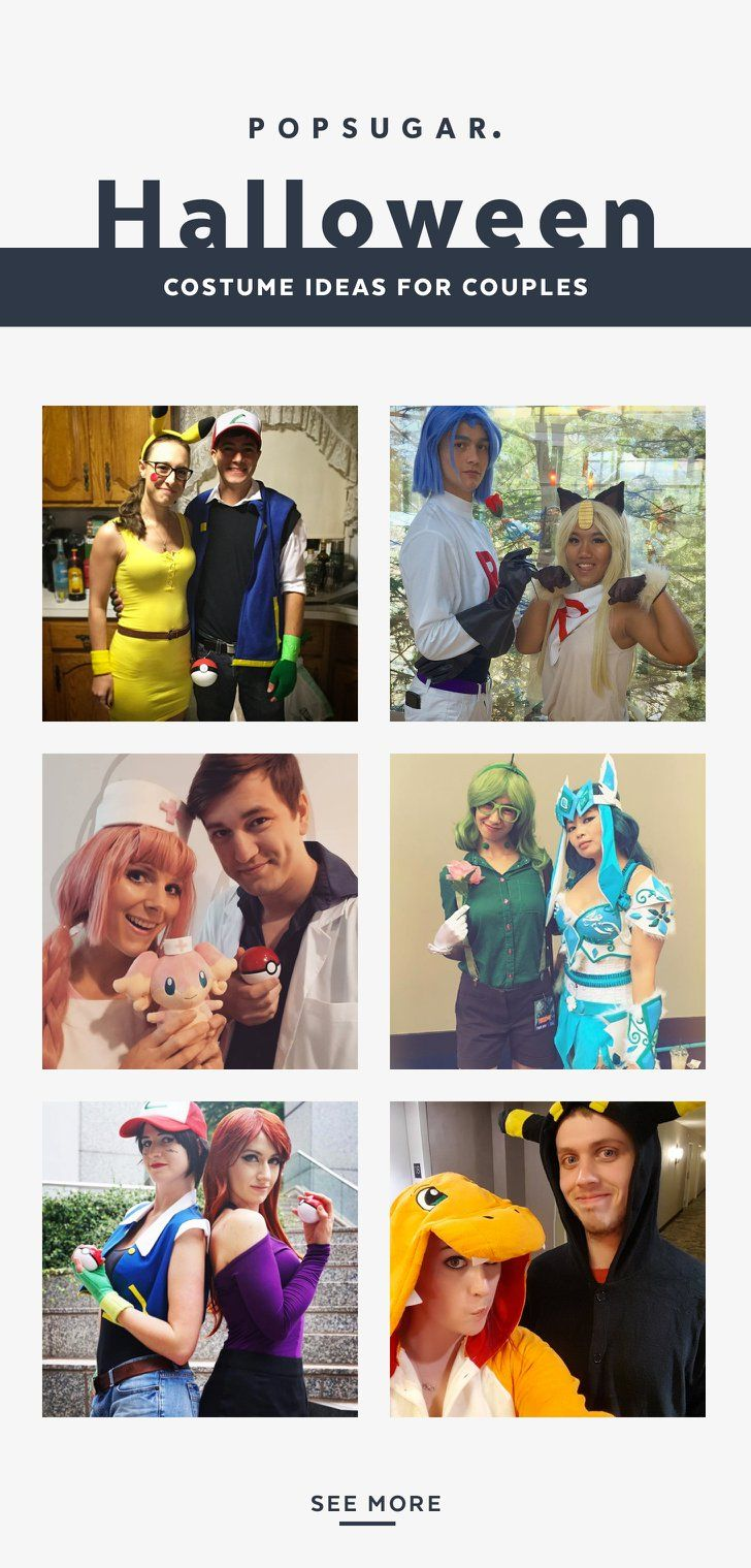 Cute And Silly Pokémon Costumes For Couples Costumes And - 28 awesome halloween costumes couples