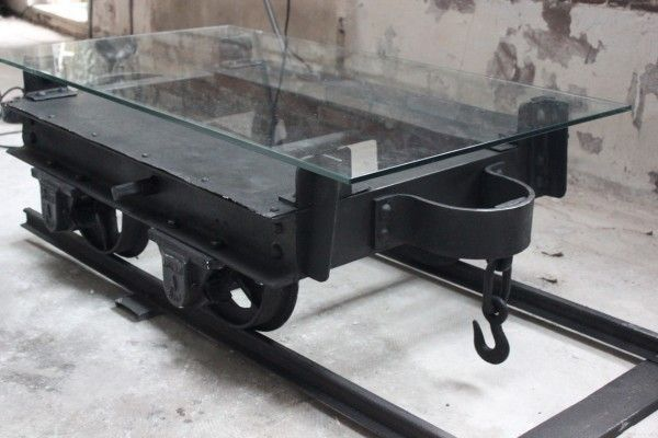 Mine Wagon Repurposed For A Coffee Table In Metals Furniture With Wagon Mine Coffee Table Cart Coffee Table Recycled Furniture Cart Furniture