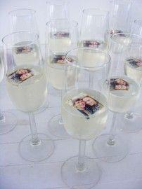 Champagnefoto 30 stuks
