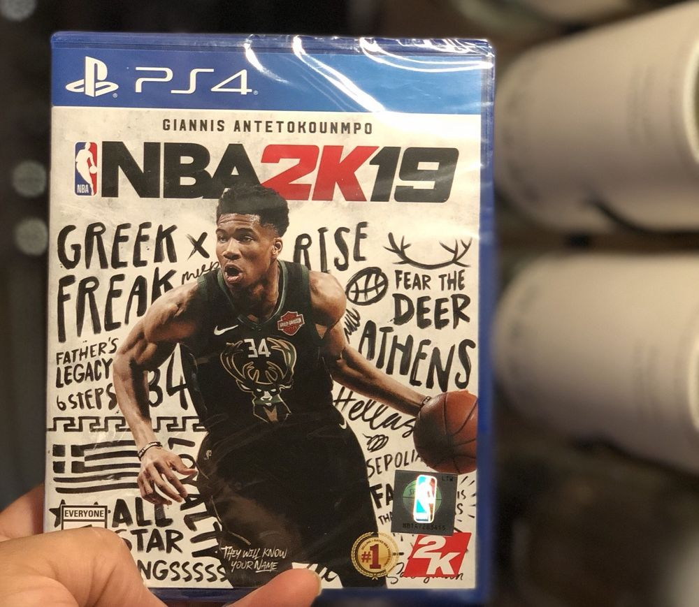 NBA 2K19 PlayStation 4 ((sealed, Unopened!)) Ps4 games