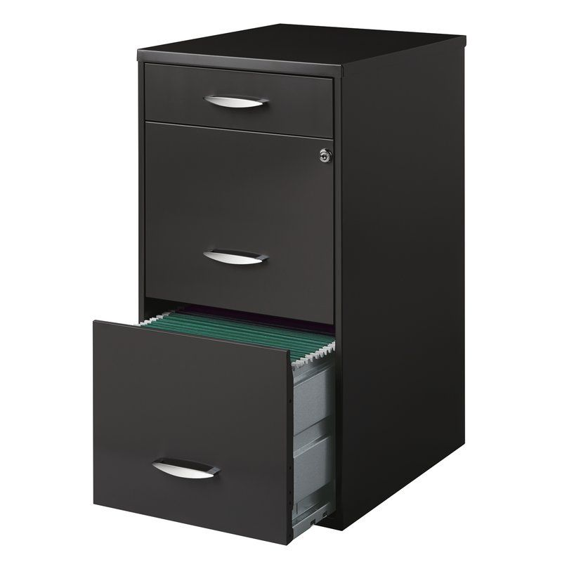Hogge Office Designs 3 Drawer Vertical Filing Cabinet Reviews Allmodern Filing Cabinet 3 Drawer File Cabinet Home Office Furniture