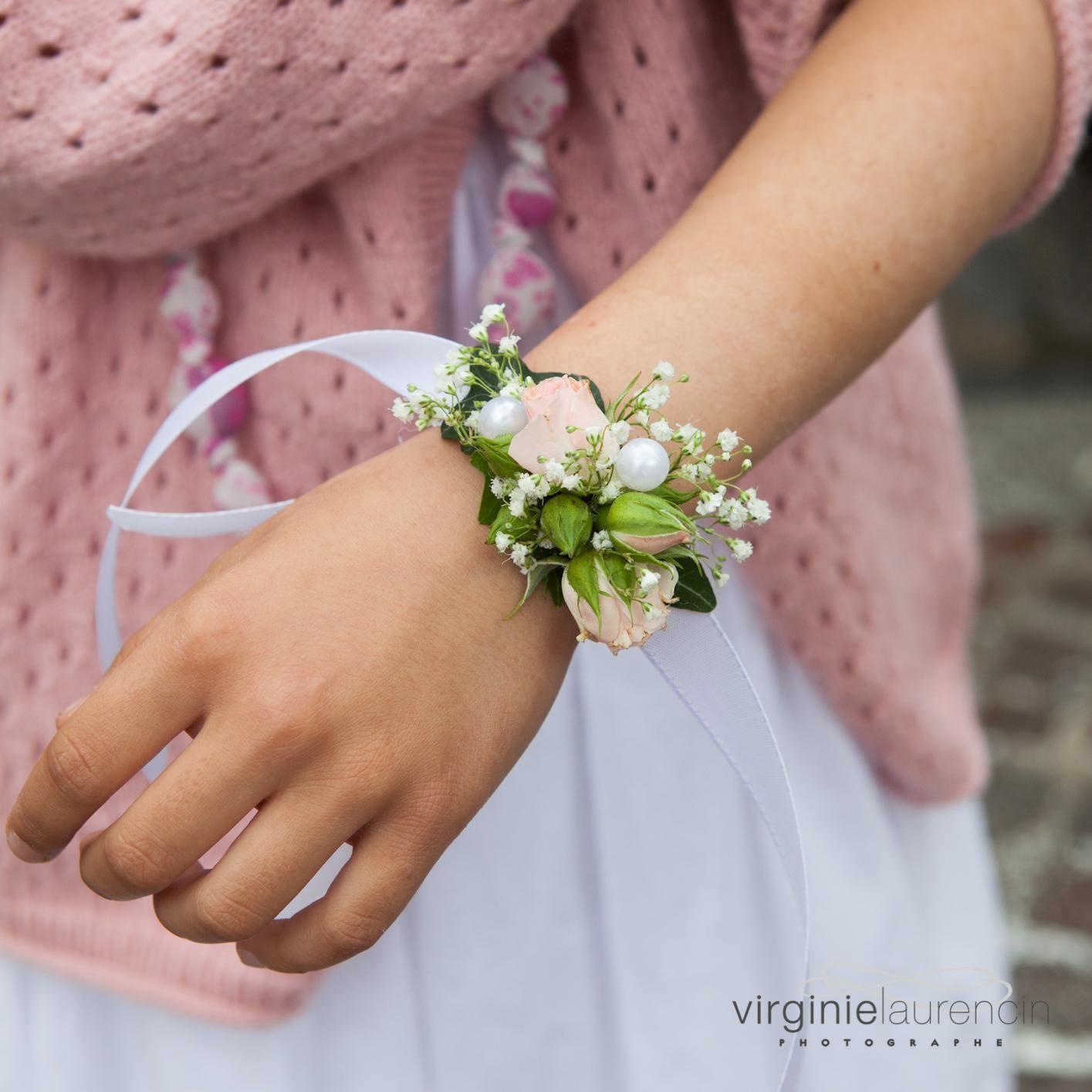 Bracelet De Fleurs Pour Mariage