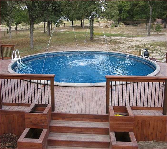 Above Ground Pool Ideas Deck Gallery