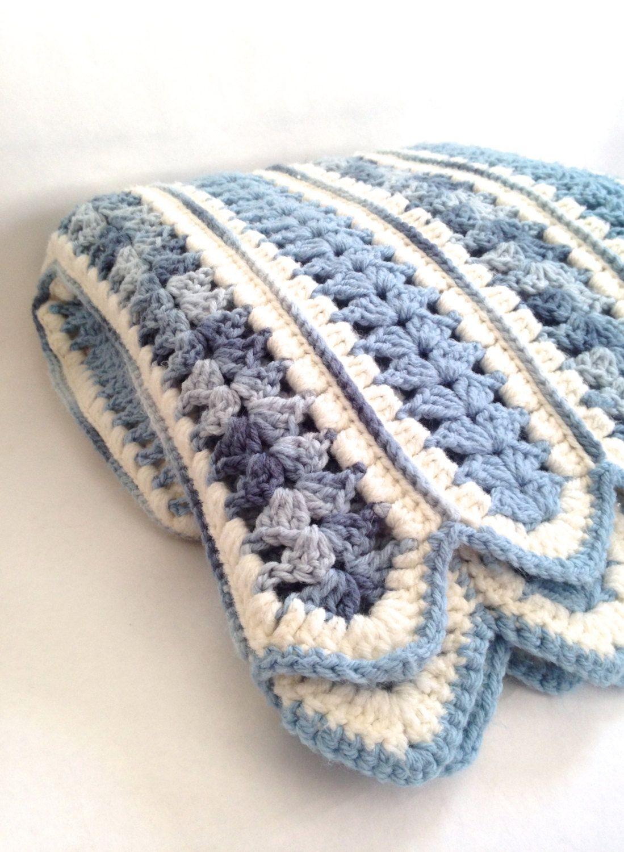 Vintage mile a minute crochet blanket with scalloped edging vintage mile a minute crochet blanket with scalloped edging yesteryears old fashioned afghan bankloansurffo Images