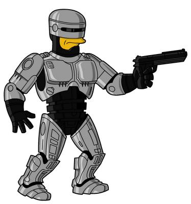 RoboCop DC+Marvel+Mas+Simpson 6.0, Taringa Descargas Gratis