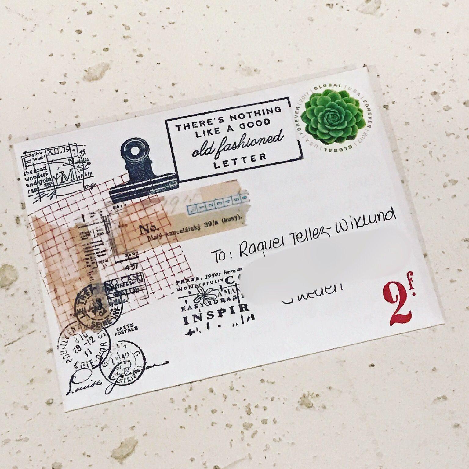 #mailart #postalart #snailmail #letters