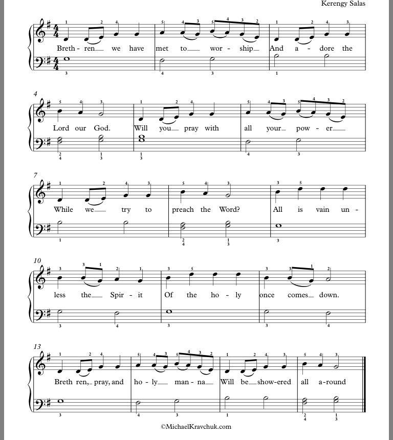 Pin By Marlene Mette On Cifras De Musicas Music Sheet Music Brethren