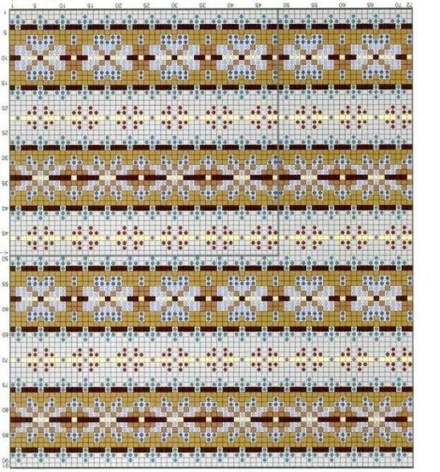 FAIR ISLE beautiful small patterns to make a flattering sweater ...