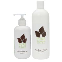 Pure Haven Essentials Hands On The Go Set 8 Oz And 16 Oz