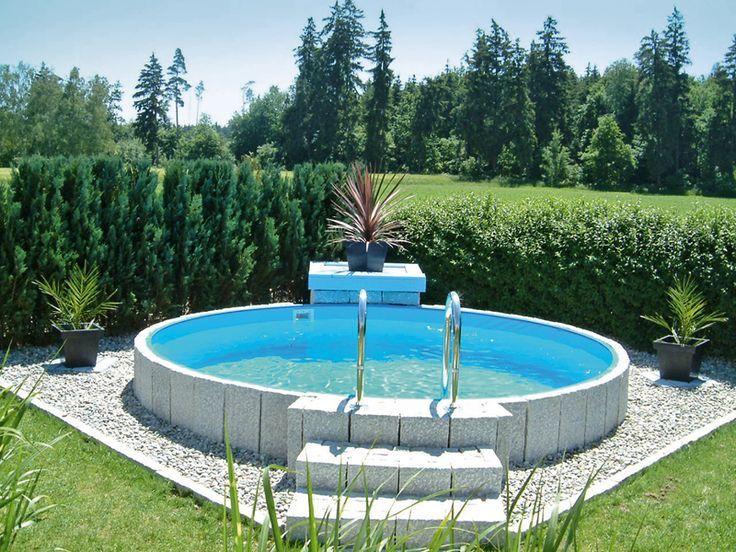 bildergebnis f r poolgestaltung stahlwandbecken garten pool im garten garten und schwimmbecken. Black Bedroom Furniture Sets. Home Design Ideas