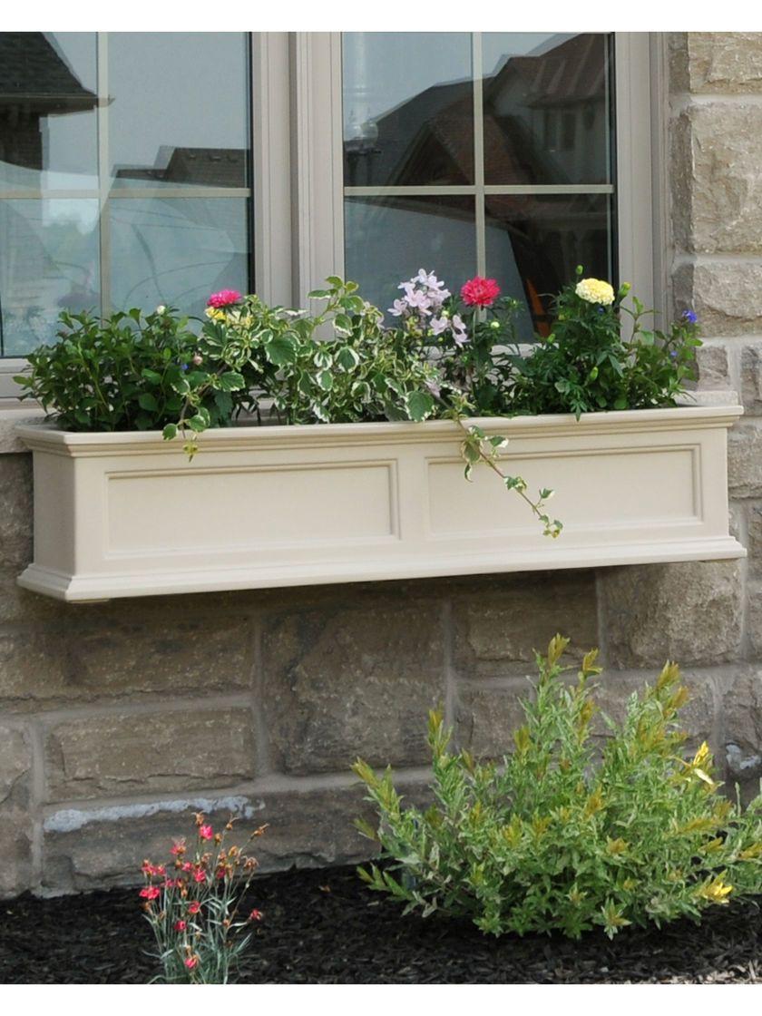 4 Ft Fairfield Window Flower Boxes Self Watering