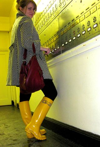 Yellow Rubber Boots | boots heels in 2019 | Wellies boots ...