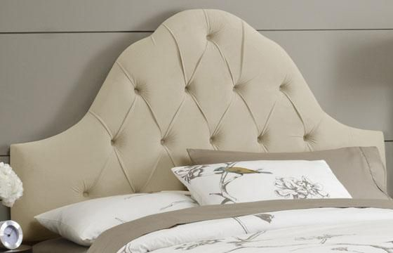 Love this headboard...saw one like this at Pier Import | Home Decor ...