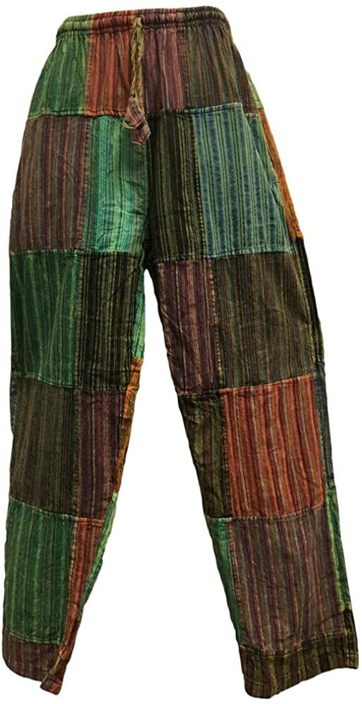 Men's Vintage Indian Ethnic Cotton Bohemian Gypsy