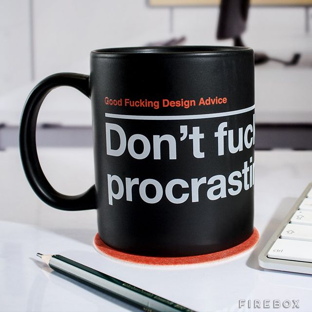 Good F*cking Design Advice Mugs, Drinkware That Dishes Out ...