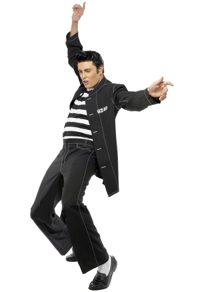 Elvis Jail House Rock Costume