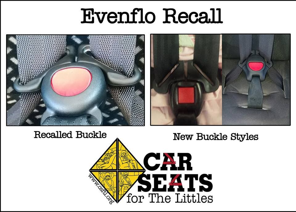 Graco Buckle Recall >> Evenflo Car Seat Buckle Recall Www Csftl Org Car Seat Recalls
