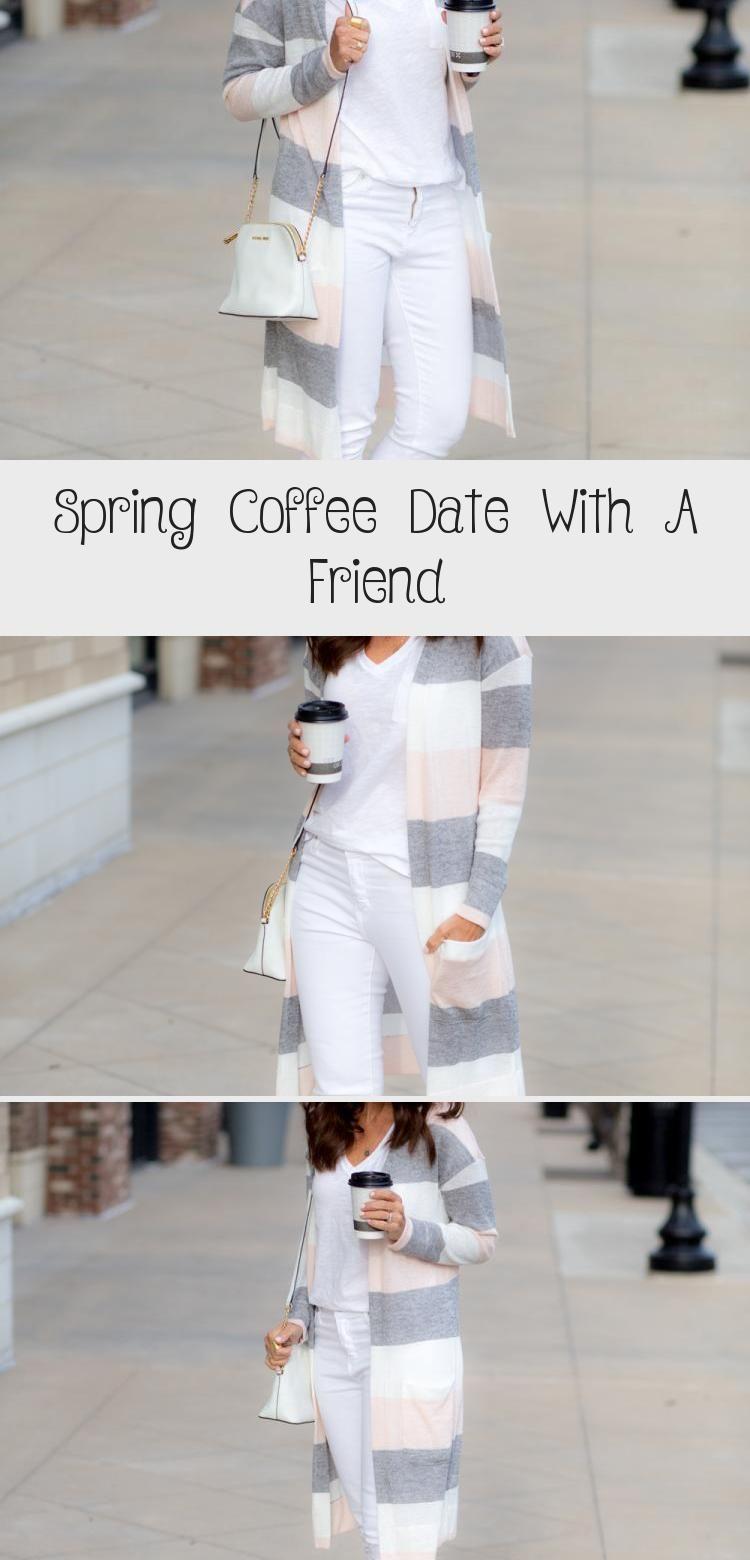Spring Coffee Date With A Friend - FASHIONATE | A2VIDS #coffeedate