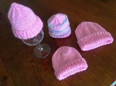 ButterZ: Knitting Premie Beanies #premiebabyhats