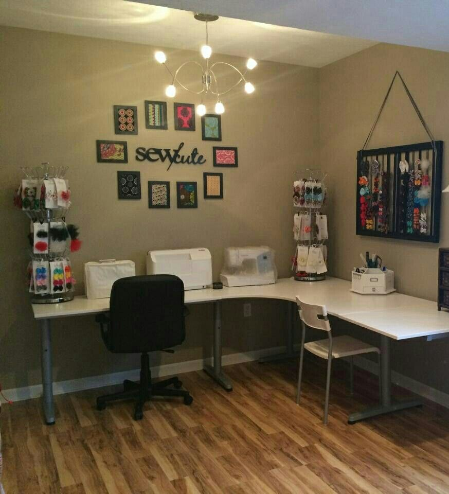 Sewing Room Decorated By Stanton Interior Decorating And Staging West  Chester Ohio
