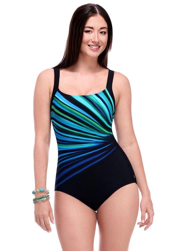 reebok swim top