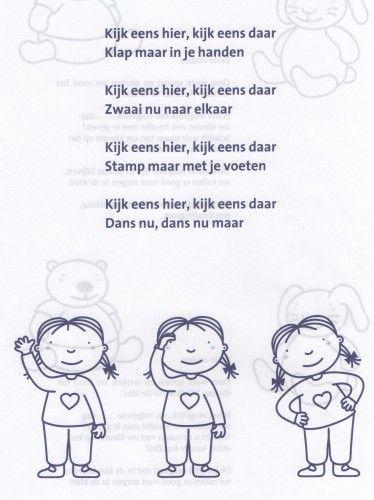 Kijk Eens Hier Kijk Eens Daar Gedichten Liedjes