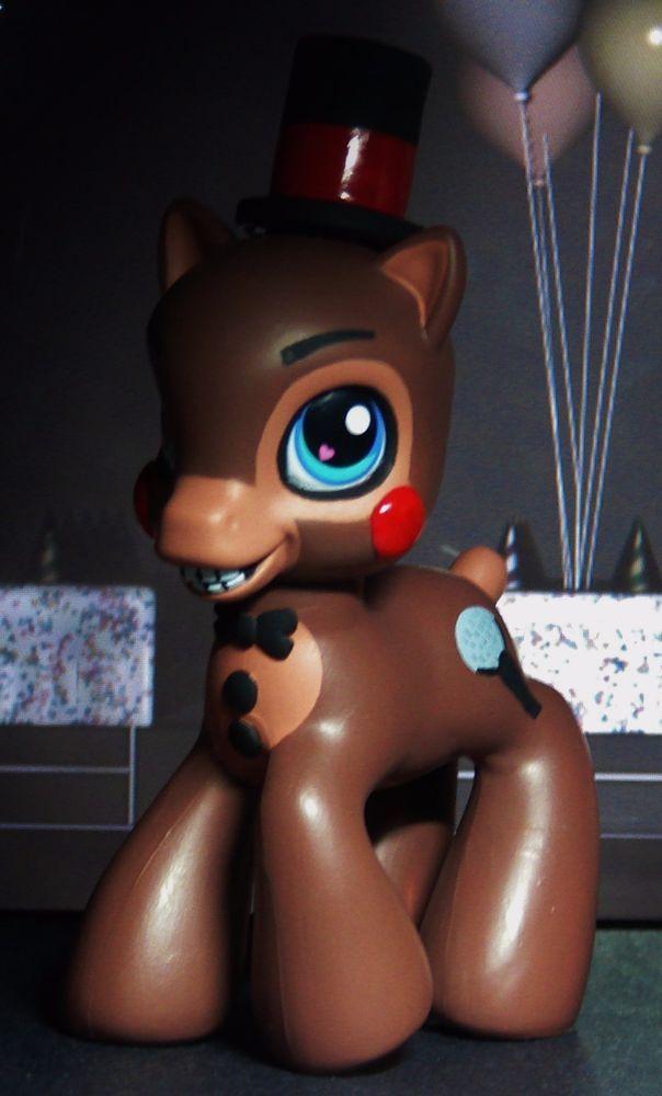 Toy Freddy Fnaf Five Nights At Freddy S Ooak Custom Figure
