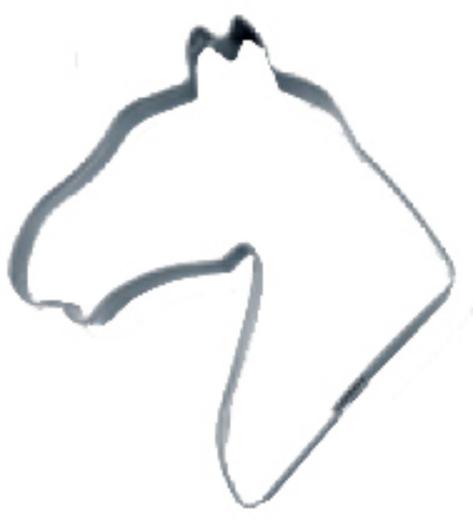 Keksausstecher Pferdekopf | Pferdekopf