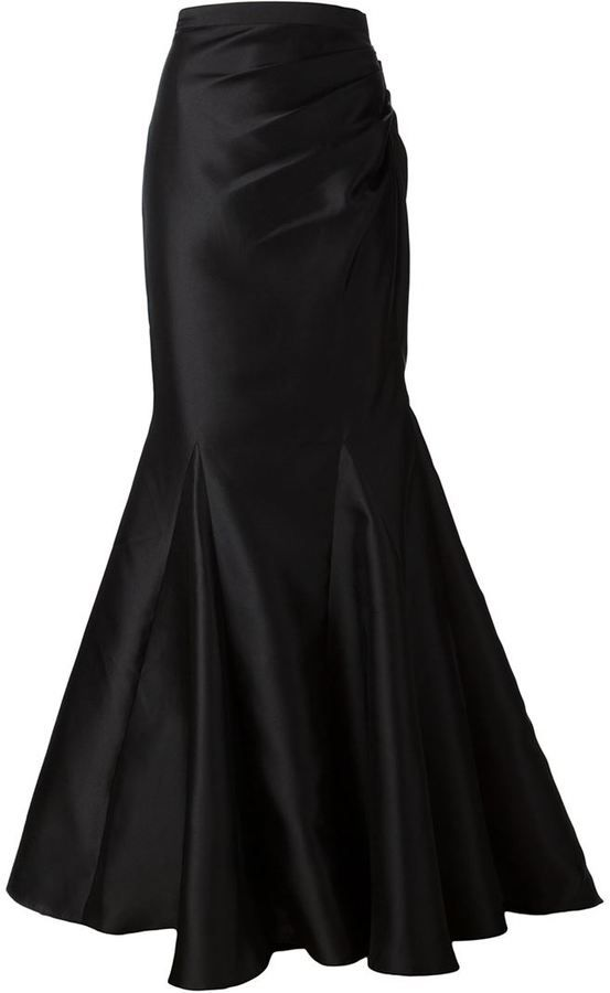 Badgley Mischka fishtail maxi skirt | Style Maven: CHIC and Modern ...